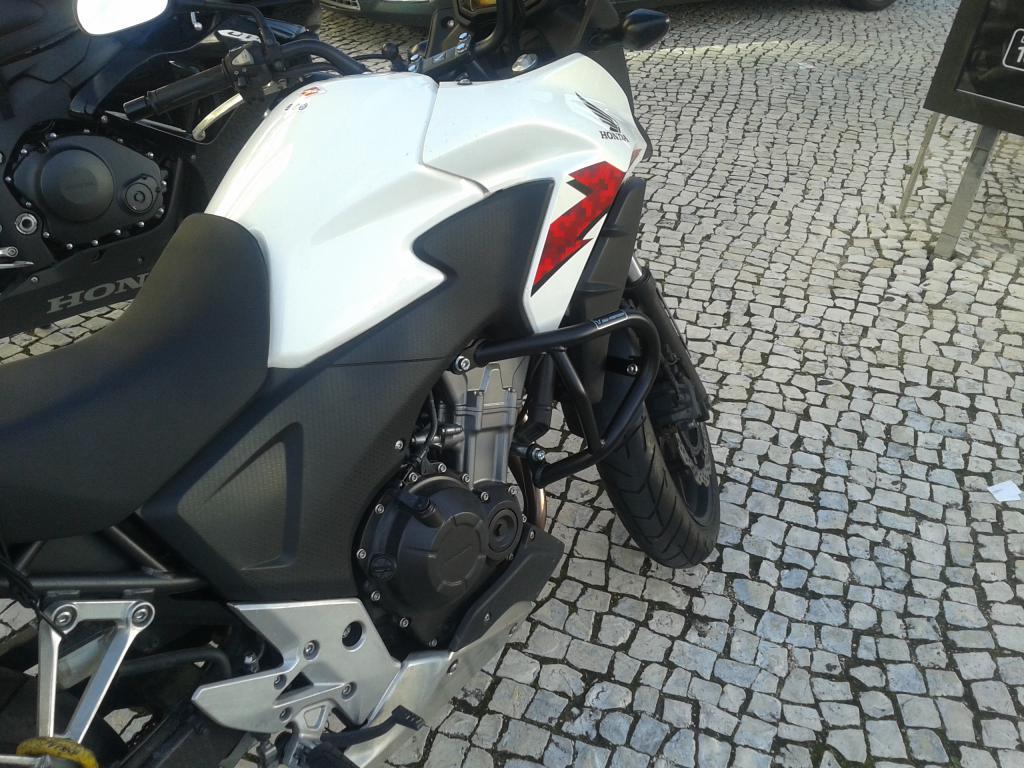 SW Motech crash bars - Honda CBR500R Forum : CB500F and CB500X Forums