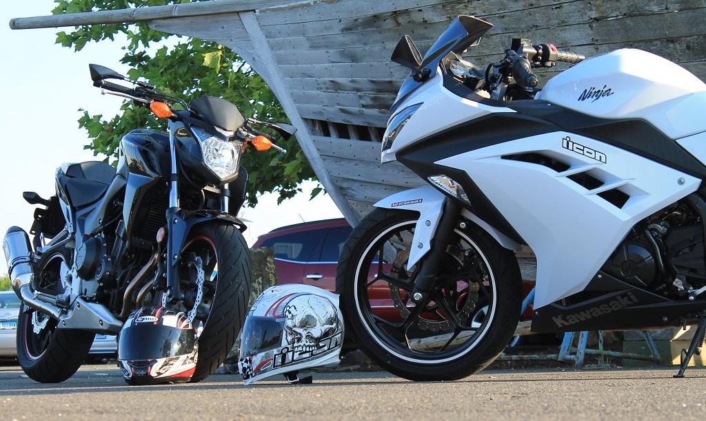 My cb500f and wifes ninja 300 honda cbr500r forum cb500f and cb500x forums - Ninja 300 forum ...